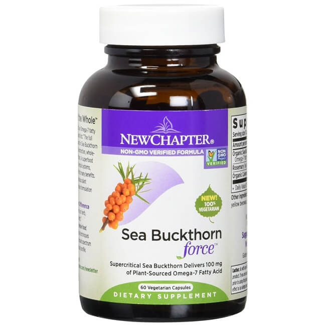 Sea Buckthorn Force - 60 Vegetarian Capsules | Vitma