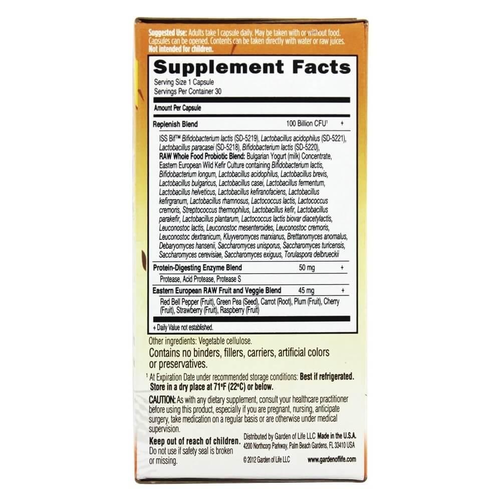 Raw Probiotics Ultimate Care 34 Probiotic Strains