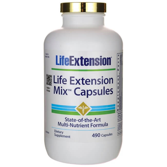Mix Capsules - 490 capsules from Life Extension