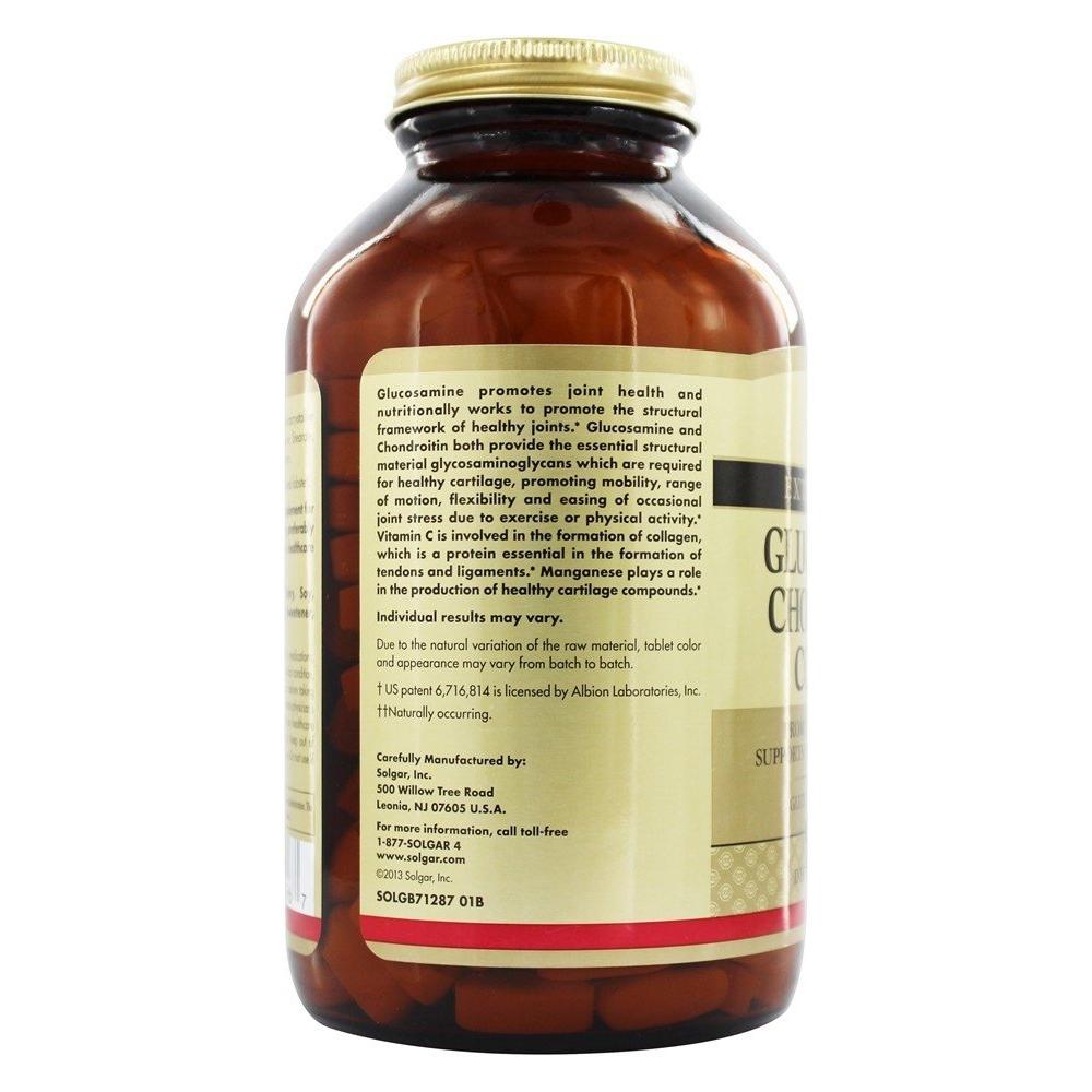 Extra Strength Glucosamine Chondroitin Complex