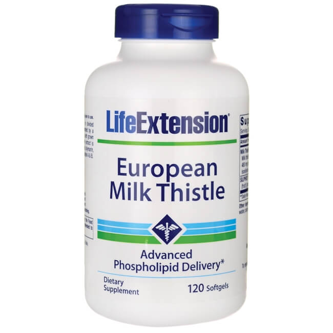 European Milk Thistle - 120 softgels