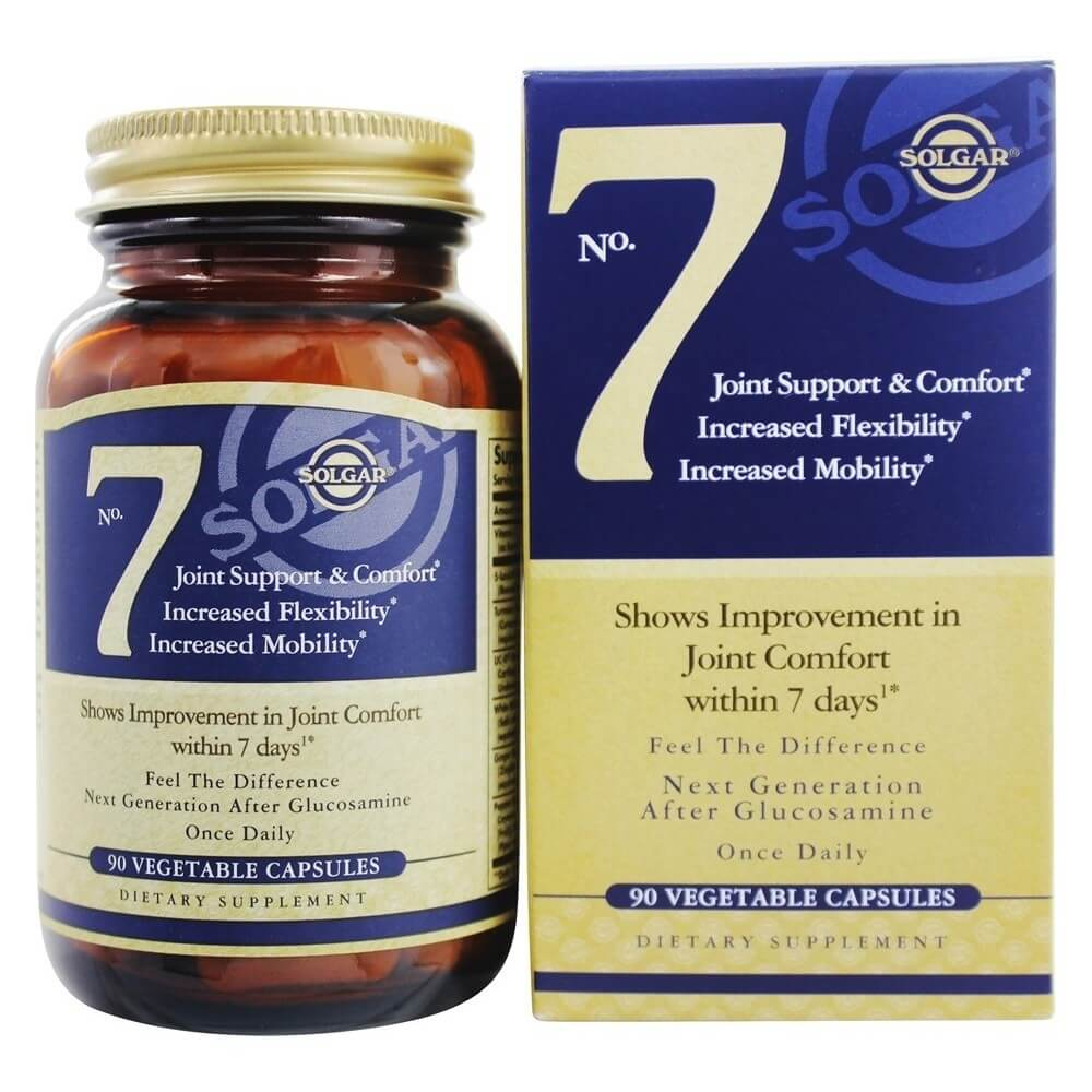 Solgar No. 7 Joint Support, 90 Vegetarian Capsules