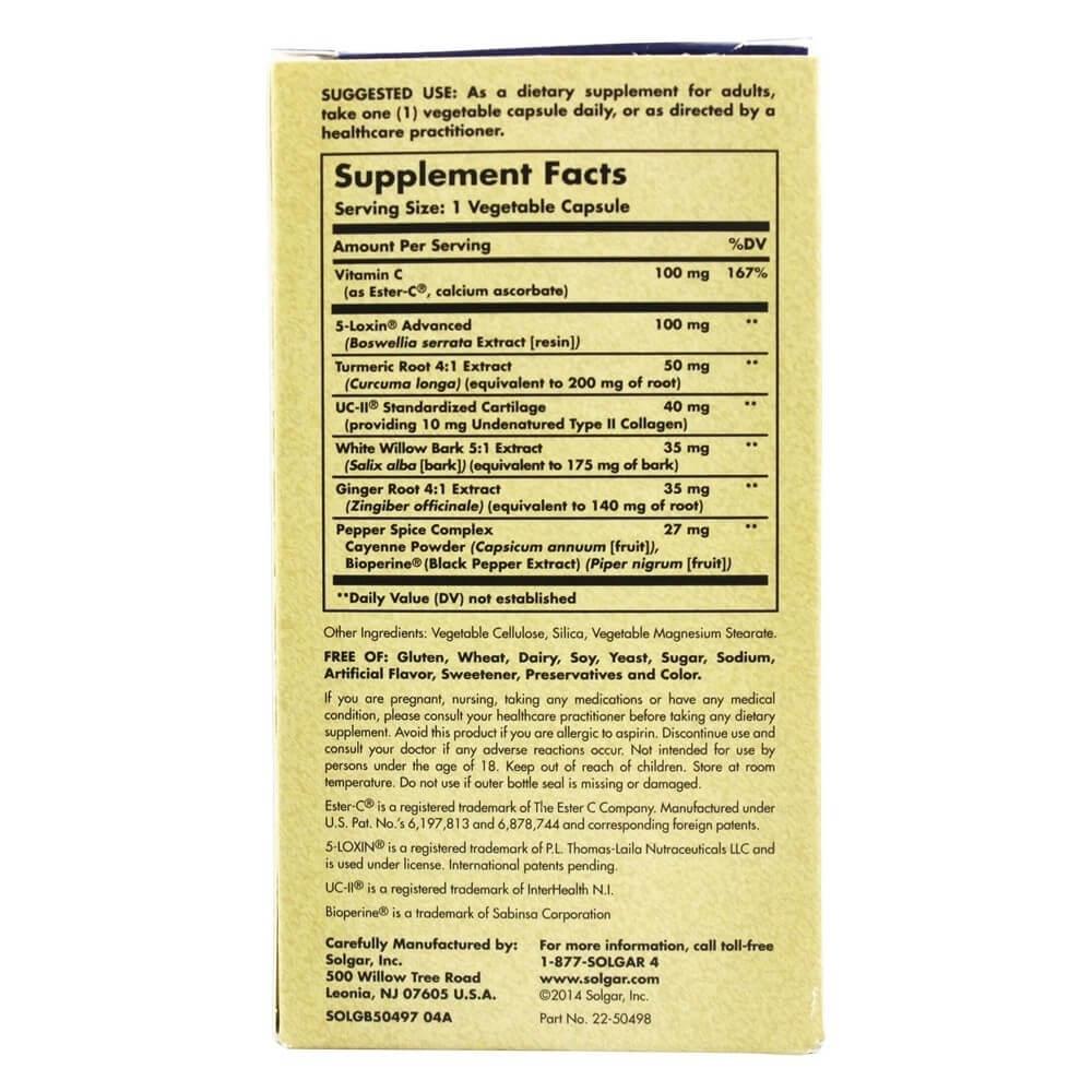 Solgar No. 7 Joint Support, 90 Vegetarian Capsules