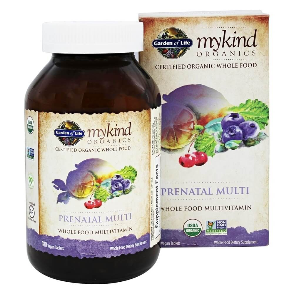 Garden of Life - mykind Organics Prenatal Multi Whole Food Multivitamin
