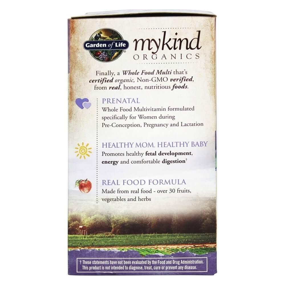 Garden of Life - mykind Organics Prenatal Multi Whole Food Multivitamin