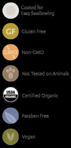 Garden of Life - mykind Organics Prenatal Multi Whole Food Multivitamin sprite