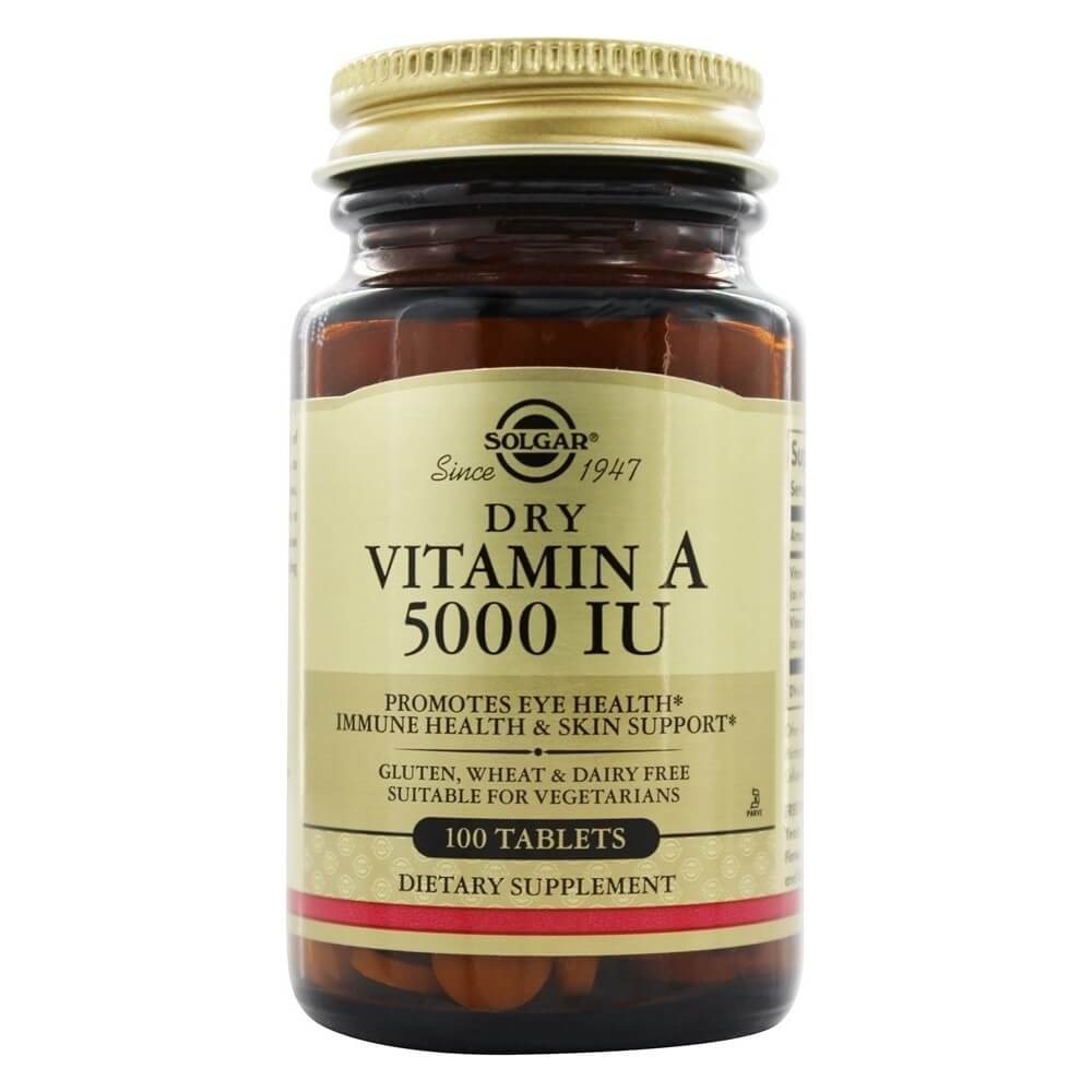Vitamin A 5000 IU - 100 Tablets | Vitma