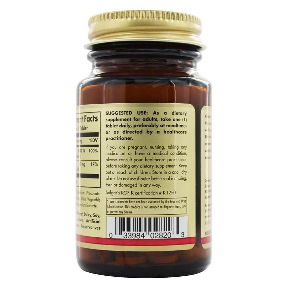 Vitamin A 5000 IU - 100 Tablets | Vitma
